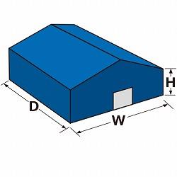 テント倉庫・シート倉庫の価格例